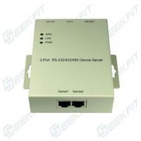 Magnetic Isolation protect 2port RS232 to ETH Serial Device Server