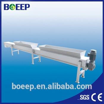 Screw conveyor sludge waste and etc