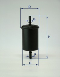 CH10931 Fuel filter elements engine parts