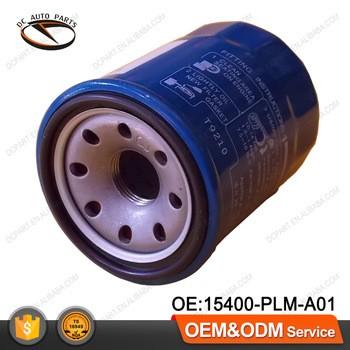 Honda auto engine filter elements 15400PLMA01 car oil filters