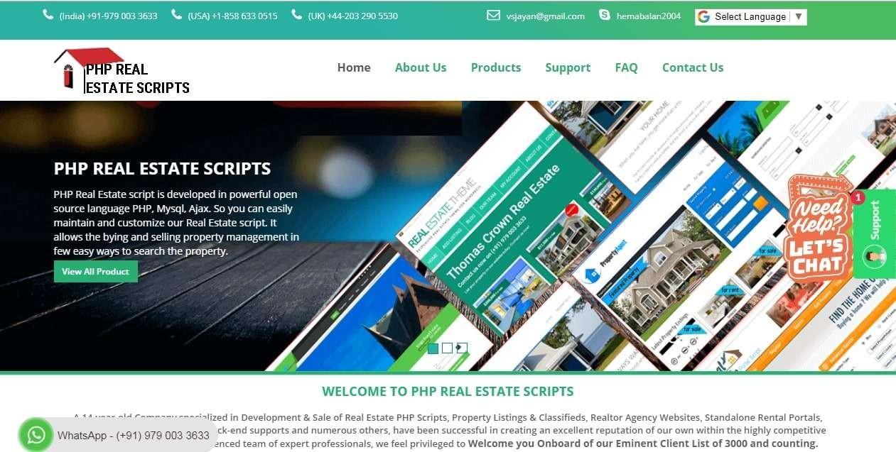 Real Estate Script | Real Estate Listing Software