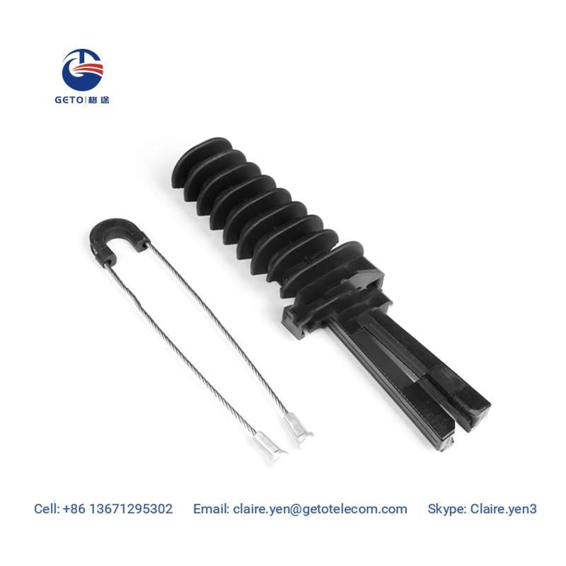 Plastic Wedge Anchoring Tension Clamp