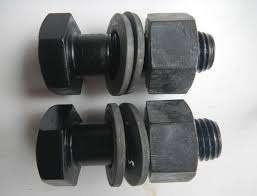 六角螺栓,螺母和垫圈