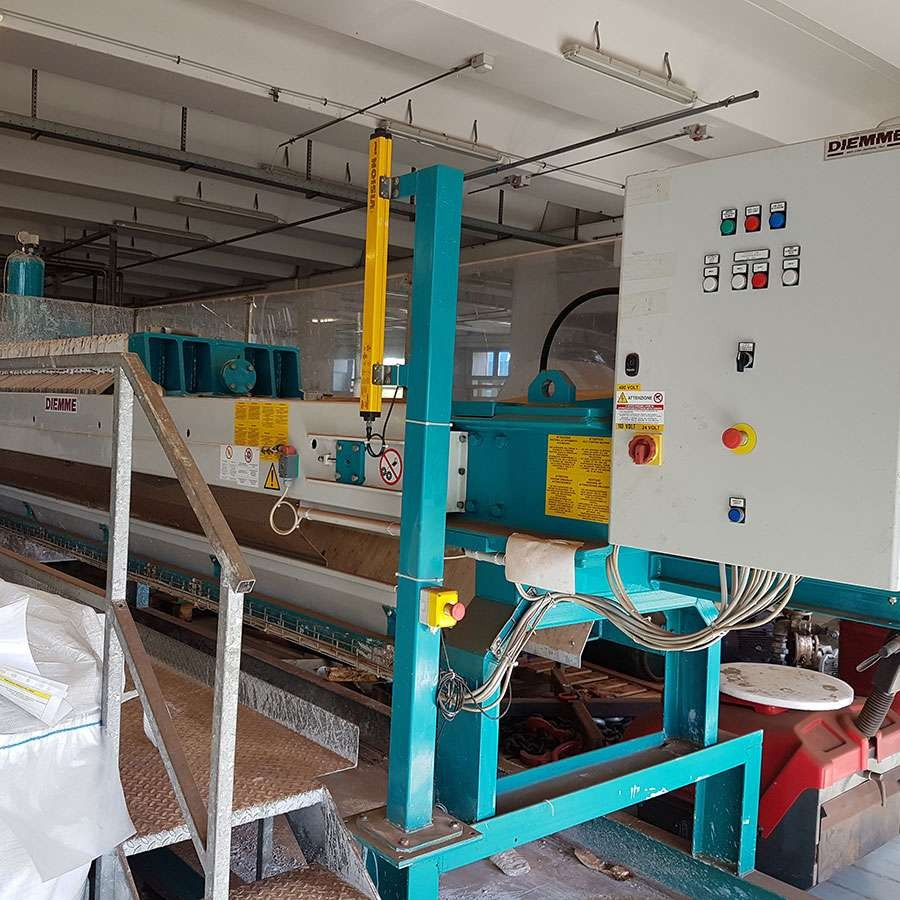 Used Reconditioned Matec Filter Press Machine  FP 800 With 40 Plates.