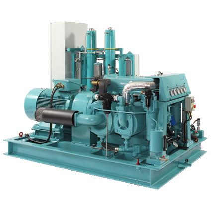 8 bar piston industrial air compressor