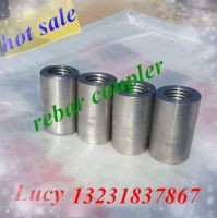straight thread sleeve rebar coupler used to connect steel bar