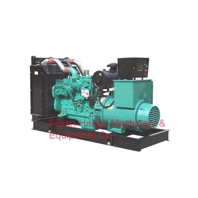 柴油发电机由康明斯发动机提供动力