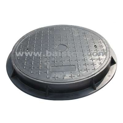 Gas Station Manhole Cover Round Type 900mm D400