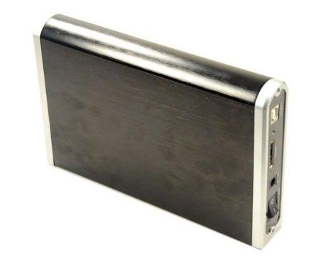 播放和插入3.5硬盘驱动器机箱4 TB外部硬盘USB 3.0 / Esata