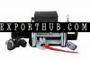 12V 12000lbs无线电动绞车4WD钢丝绞车ATV船卡车