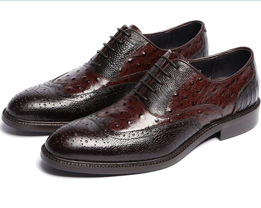 Genuine Leather rubber sole dressing shoes/casual shoes/Italy shoes for men