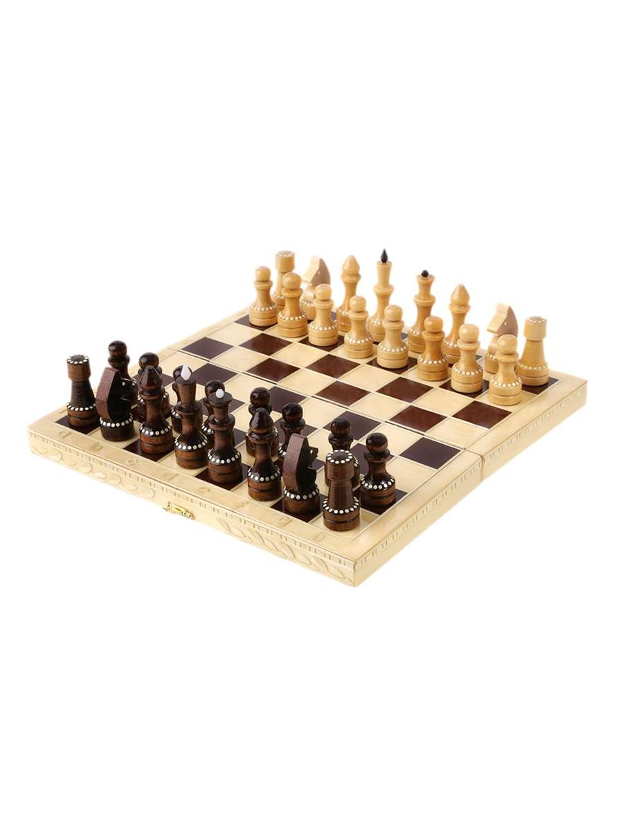 Classic Inlaid Chess Set 290*145*38(mm)