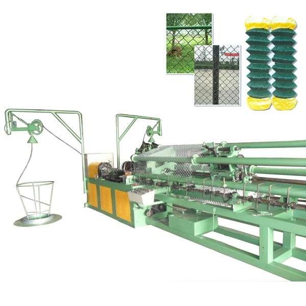 链条编织机厂生产线