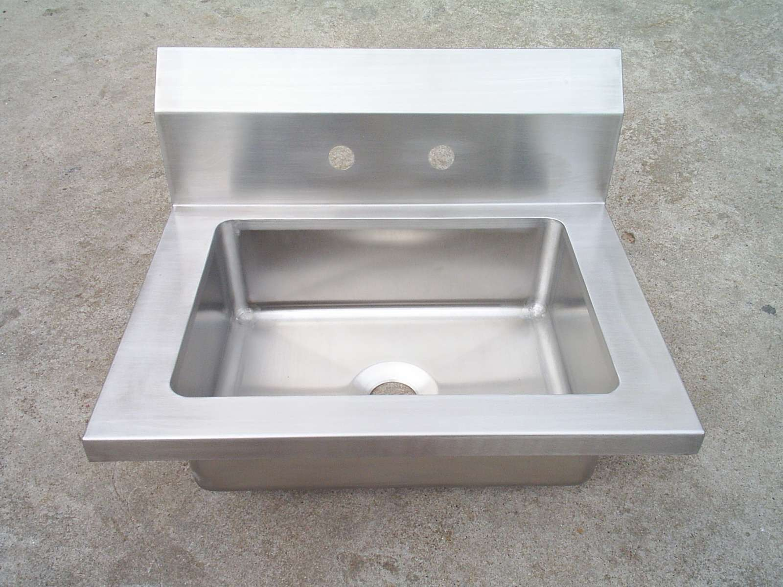 Stainless Steel Welding Hand Sink with 4