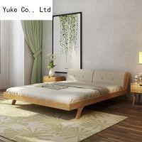 设计双人床木床