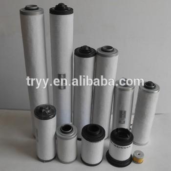 vacuum pump intake air filter elements