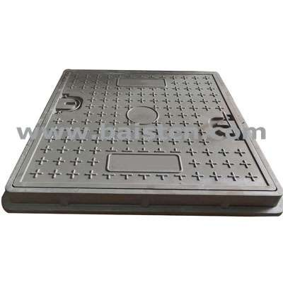 BMC Manhole Cover 700x700mm With Corrosion Resistance And UV Protection