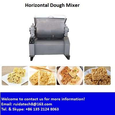 Sachima Caramel Treats Horizontal Dough Mixing Machine/ Snacks, Rolls Dough Kneader