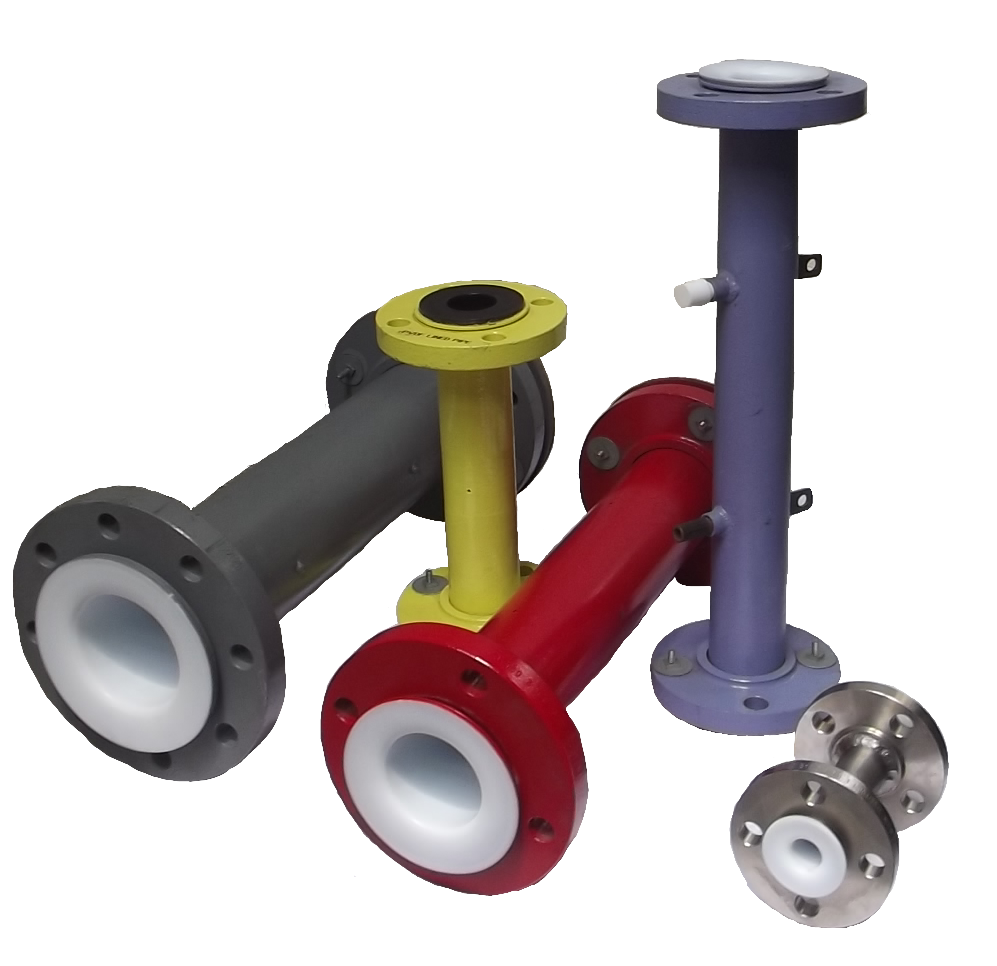 PTFE/PFA Lined Pipes And Fittings - ANSI