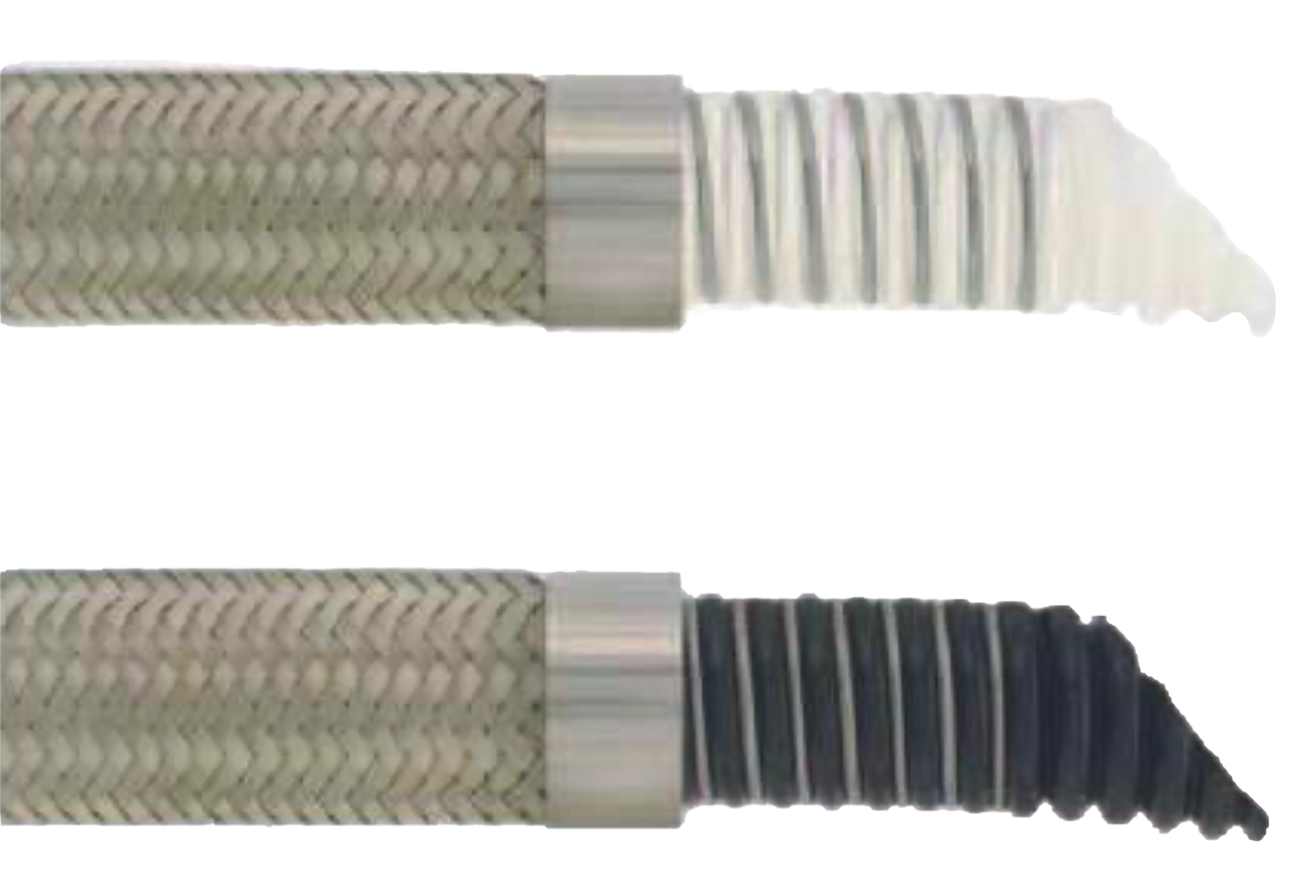 PTFE Lined Hoses - Convoluted